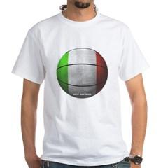 Italian Basketball White T-Shirt