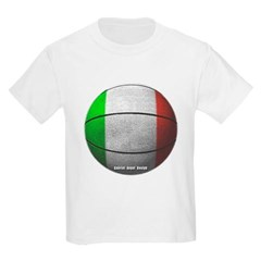 Italian Basketball Youth T-Shirt by Hanes