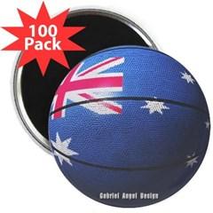 """Australian Basketball 2.25"""" Magnet (100 pack)"""