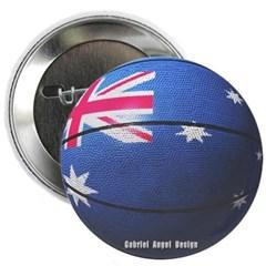 Australian Basketball Button