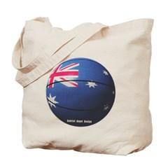 Australian Basketball Canvas Tote Bag