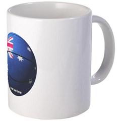 Australian Basketball Coffee Mug