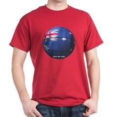 Australian Basketball Dark T-shirt