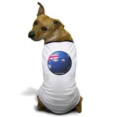 Australian Basketball Dog T-Shirt