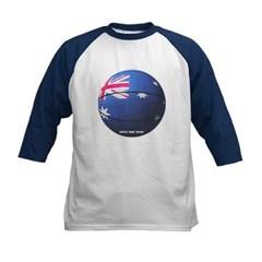 Australian Basketball Kids Baseball Jersey T-Shirt