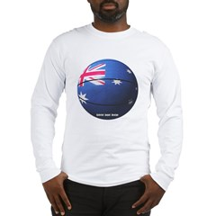 Australian Basketball Long Sleeve T-Shirt