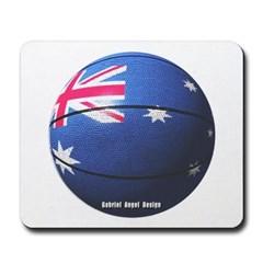 Australian Basketball Mousepad
