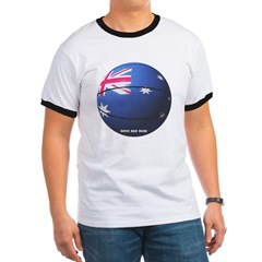 Australian Basketball Ringer T-Shirt