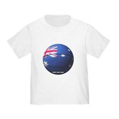 Australian Basketball Toddler T-Shirt