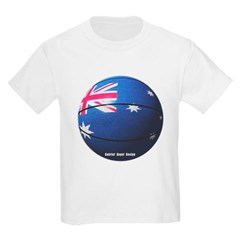 Australian Basketball Youth T-Shirt by Hanes