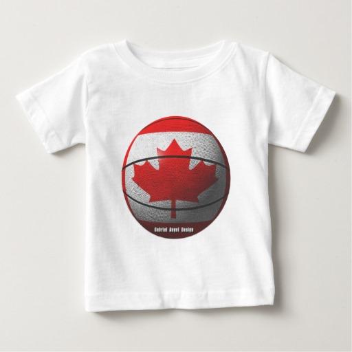 Canada Basketball Baby Fine Jersey T-Shirt