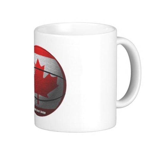 Canada Basketball Classic White Mug