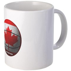 Canada Basketball Coffee Mug