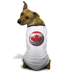Canada Basketball Dog T-Shirt