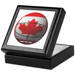 Canada Basketball Keepsake Box