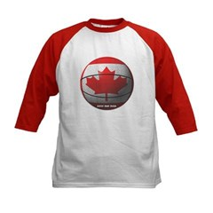 Canada Basketball Kids Baseball Jersey T-Shirt
