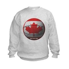 Canada Basketball Kids Crewneck Sweatshirt by Hanes