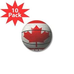 Canada Basketball Mini Button (10 pack)