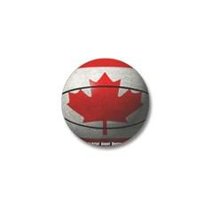 Canada Basketball Mini Button