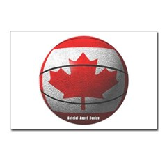 Canada Basketball Postcards (Package of 8)