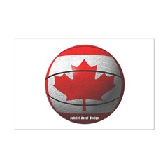Canada Basketball Small Posters