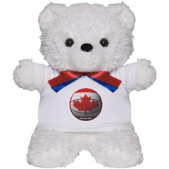 Canada Basketball Teddy Bear