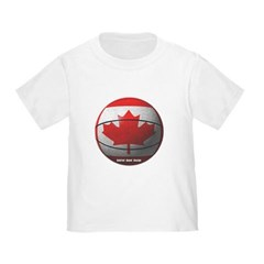 Canada Basketball Toddler T-Shirt