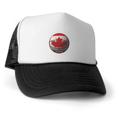 Canada Basketball Trucker Hat