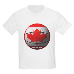 Canada Basketball Youth T-Shirt by Hanes
