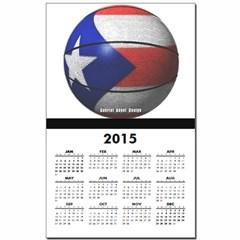 Puerto Rican Basketball Calendar Print