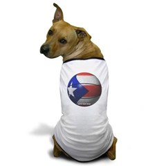 Puerto Rican Basketball Dog T-Shirt