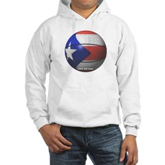 Puerto Rican Basketball Hooded Sweatshirt