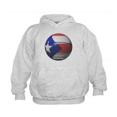 Puerto Rican Basketball Kids Sweatshirt by Hanes