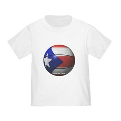 Puerto Rican Basketball Toddler T-Shirt