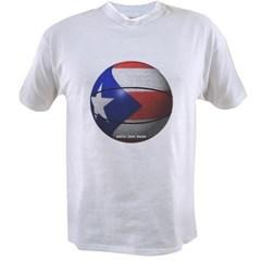 Puerto Rican Basketball Value T-shirt