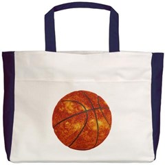 Basketball Sun Beach Tote Bag