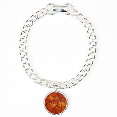 Basketball Sun Bracelet with Round Charm