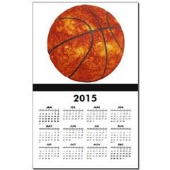 Basketball Sun Calendar Print