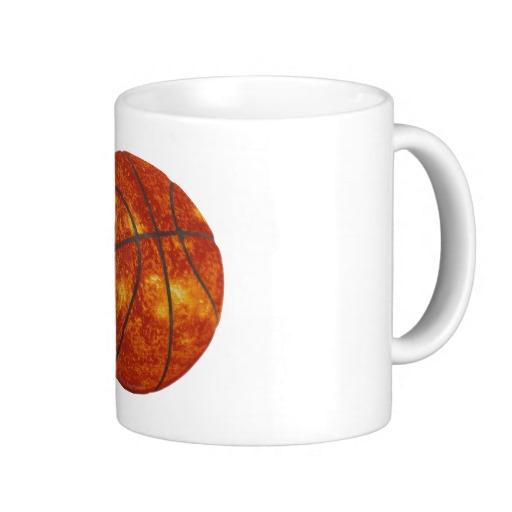Basketball Sun Classic White Mug