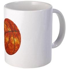 Basketball Sun Coffee Mug