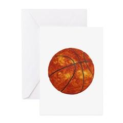 Basketball Sun Greeting Cards (Pk of 20)