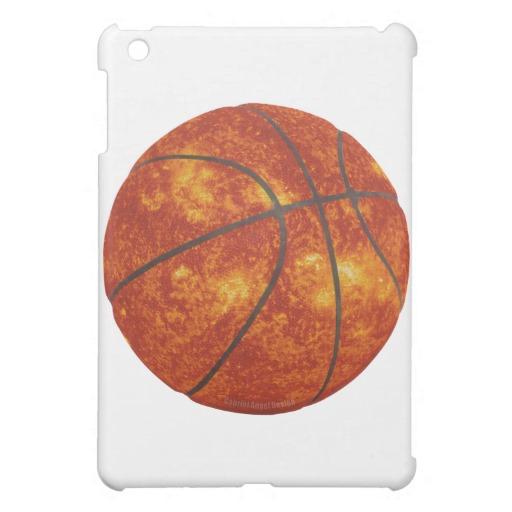 Basketball Sun iPad Mini Matte Finish Case