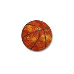 Basketball Sun Mini Button