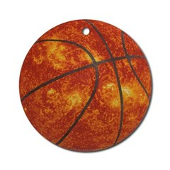 Basketball Sun Ornament (Round)
