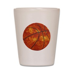 Basketball Sun Shot Glass