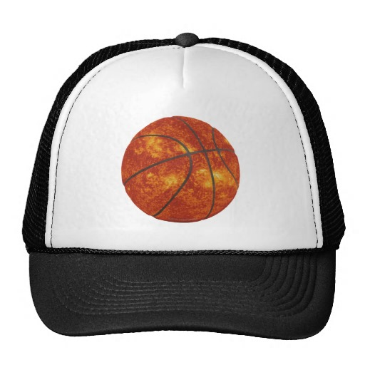 Basketball Sun Trucker Hat