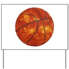Basketball Sun Yard Sign