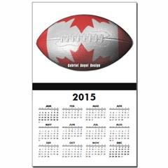 Canadian Football Calendar Print