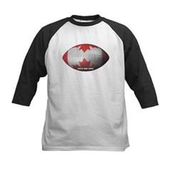 Canadian Football Kids Baseball Jersey T-Shirt
