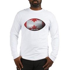 Canadian Football Long Sleeve T-Shirt
